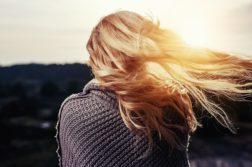 девушка, волосы