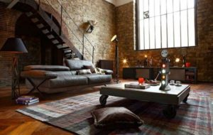 модная отделка интерьера помещения