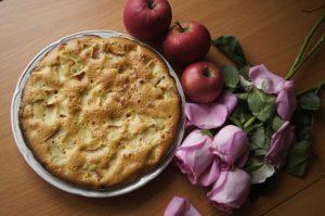 шарлотка, пирог с яблоками