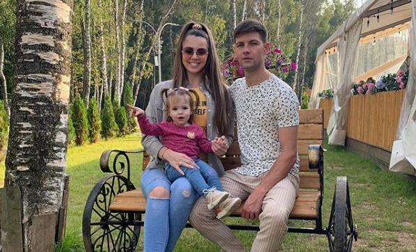 Ольга Рапунцель и ее супруг Дмитрий Дмитренко