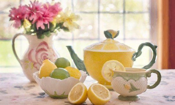 Цитрусовый чай с облепихой