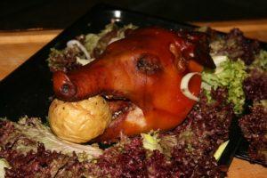 Свинина, запеченная с инжиром в духовке